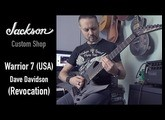 JACKSON Dave Davidson Warrior 7 (USA) Custom Shop - Mesa Boogie Mark V:25 - Metal test by Voron