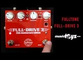 Fulltone Fulldrive 3 20th Anniversary LIMITED ! - NOW SHIPPING !