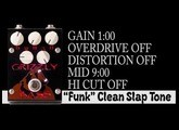 Test drive four Grizzly Bass pedal presets