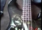Paul Gray Ibanez PGB2T tribute bass guitar