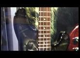 Paul Gray ibanez tribute bass NAMM2011