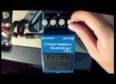Boss Compression Sustainer CS-3 (Demo Sounds Strat Egnater Rebel 30)