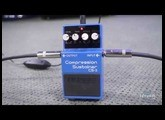 zZounds.com: Boss CS-3 Compression Sustainer Pedal