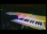 Roland EP-11 PianoPlus 11 drum-machine and arpeggiator demo (1982)