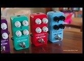 Valeton: CORAL Series pedals - preview demo