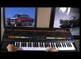Roland Jupiter 8  AMAZING PADS!!! (no effects)