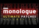 ULTIMATE PATCHES for KORG MONOLOGUE VOLUMES 1-3