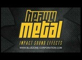 Heavy Metal Impact Sound Effects - Clang, Clank and Clunk - WAV Sample Pack for Download