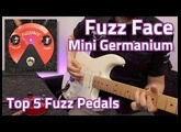 Dunlop Fuzz Face Mini Germanium Demo - Top 5 Fuzz Pedals