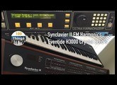 Synclavier II FM Harmonics + Eventide H3000 Crystal Echo's