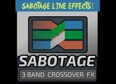 Sabotage / 3-band Multi-FX Crossover  [rack extension for Reason Propellerhead]