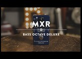 MXR Bass Octave Deluxe   Reverb Demo Video