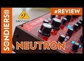 BEHRINGER NEUTRON : Synthétiseur semi-modulaire analogique et en plus il est rouge