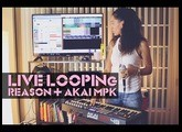 How to do LIVE LOOPING in Reason 10 with AKAI MPK49 | BeatMakers 1O1 E2