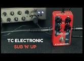 TC ELECTRONIC SUB 'n' UP - Bass Demo /// Bruno Tauzin