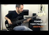 FENDER TONY FRANKLIN FRETLESS - Groove #1 /// Bruno Tauzin