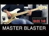 Stevie Wonder - Master Blaster /// Authentic Bass Cover
