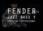 FENDER JAZZ BASS V AMERICAN PROFESSIONAL - Test Complet /// Bruno Tauzin