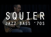 SQUIER JAZZ BASS '70s VINTAGE MODIFIED - Test Complet /// Bruno Tauzin