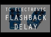TC ELECTRONIC FLASHBACK DELAY - Basse - Test Complet /// Bruno Tauzin