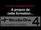 Formation Studio One 4 - A01: A propos de cette formation...