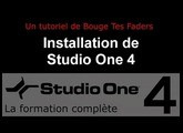 Formation Studio One 4 - B02: Installation de Studio One 4