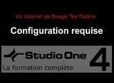 Formation Studio One 4 - B01: Configuration requise