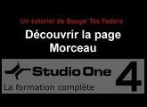 Formation Studio One 4 - C02: Découvrir la page morceau