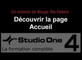 Formation Studio One 4 - C01: Découvrir la page accueil