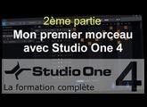 Formation Studio One 4 - C05: Mon premier morceau avec Studio One (2/3)