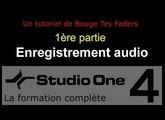 Formation Studio One 4 - D01: Enregistrement audio (1/2)