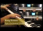 Korg Kronos 2- Orchestral Epic / Progressive Rock