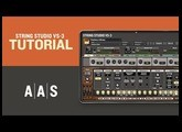 String Studio VS-3 Tutorial—Working with layers