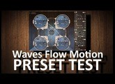 NEW! Waves Flow Motion FM Synth (quick PRESET TEST)