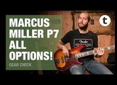 Playing all the Marcus Miller P7 Bass models | Demo | Thomann