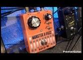 SNAMM '16 - Black Cat Monster K-Fuzz & Black Cat Vibe Stereo Demos