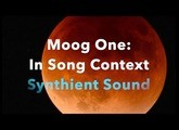 Moog One: In Context of a Song (Ballad For Our Childhood Space Heroes)