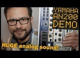 YAMAHA AN200 Groove Box demo - half an AN1X, twice an EX5
