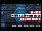U-HE HIVE 1.2 Synthesizer Wavetable Update Sound Demo | SYNTH ANATOMY