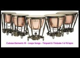 Cubase Elements 10 | Loops Songs | Timpani & Timbale 1 à 95 bpm.