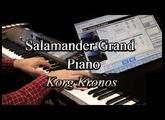 Korg Kronos - Free Yamaha C5 Salamander Grand Piano