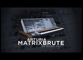 The Arturia MatrixBrute- Part 2- Working with Two Arturia Oscillators