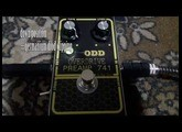 ODD Preamp 741(ovedrive and boost) guitar effect by Mojo Gear Fx