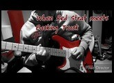 #3 Jam When Red Strat meets Backing Track [Chrome Red Mexican Stratocaster]