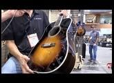 SNAMM '16 - Eastman Guitars E40D SB & MD415 BK Demos