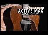 The versatile Active Mag Acoustic Guitar Pickup  | Duncan Demos
