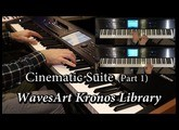 WavesArt Harp & Symphonic Suite Kronos EXs Library (Part 1)