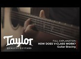 How does V-Class Guitar Bracing Work? | Taylor Guitars
