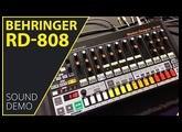 Behringer RD 808 Sound Demo (no talking)