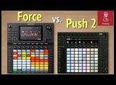 Akai Force vs Ableton Push 2